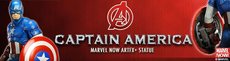 "Marvel - Captain America ""Avengers Now"" - Kotobukiya France"