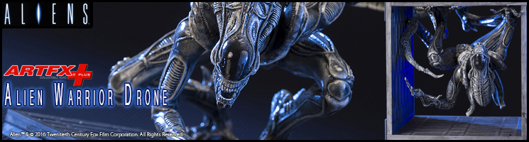 Kotobukiya France - Alien Warrior Drone 1/10ème