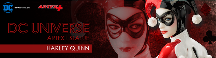 DC Universe - Harley Quinn ARTFX+  Statue