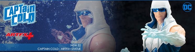 DC Comics - Captain Cold NEW 52 ARTFX+ Statue