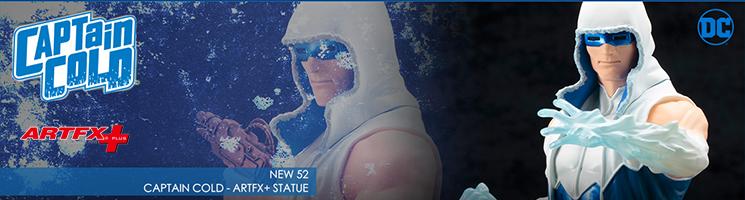 DC Comics - Captain Cold NEW 52 ARTFX+ Statue