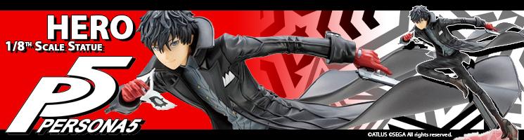 Persona 5 - Protagonist statue