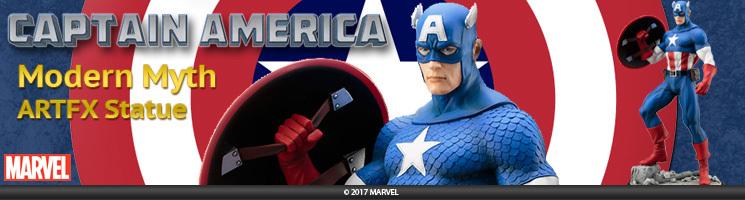 "Captain America ""Modern Myth"" ARTFX Statue"