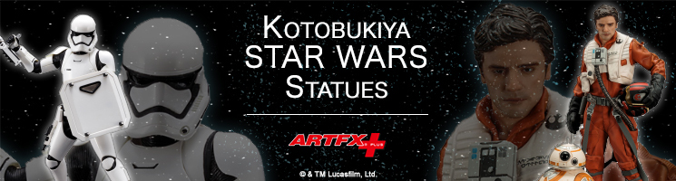 Find your Star Wars collectible statues at Kotobukiya Europe