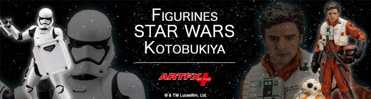 Retrouvez toutes vos figurines Star Wars chez Kotobukiya France
