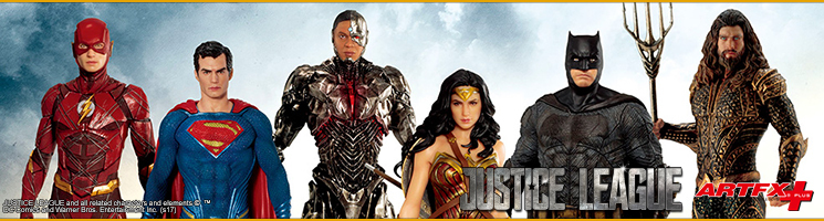 Justice League Movie : Collection de statuettes échelle 1/10ème