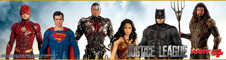 Justice League Movie : Collection de statuettes échelle 1/10ème