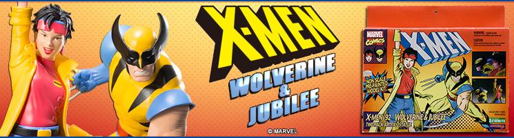 X-Men 1992 - Wolverine & Jubilee ARTFX+ 2 pack