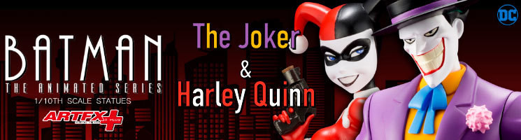Batman: The Animated Series - The Joker & Harley Quinn collectible statues