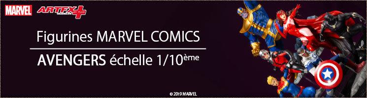 Statuettes Marvel Comics - Collection Avengers - Kotobukiya France