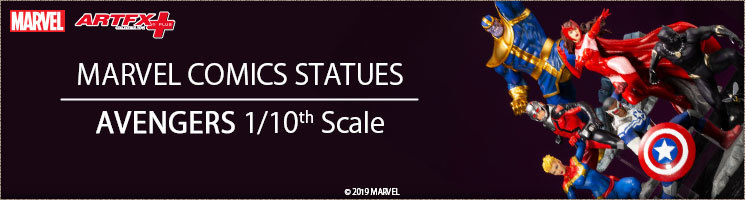 Avengers Statues - Marvel Comics 1/10th scale series - Kotobukiya Europe